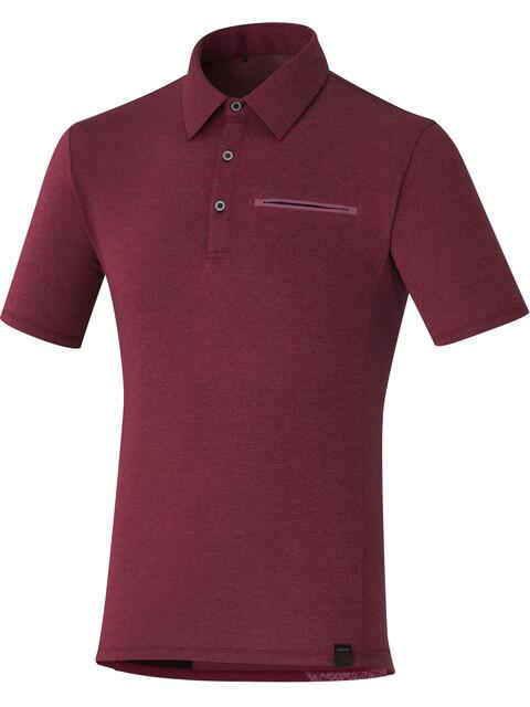 Shimano Transit Fietsshirt korte mouwen Heren rood